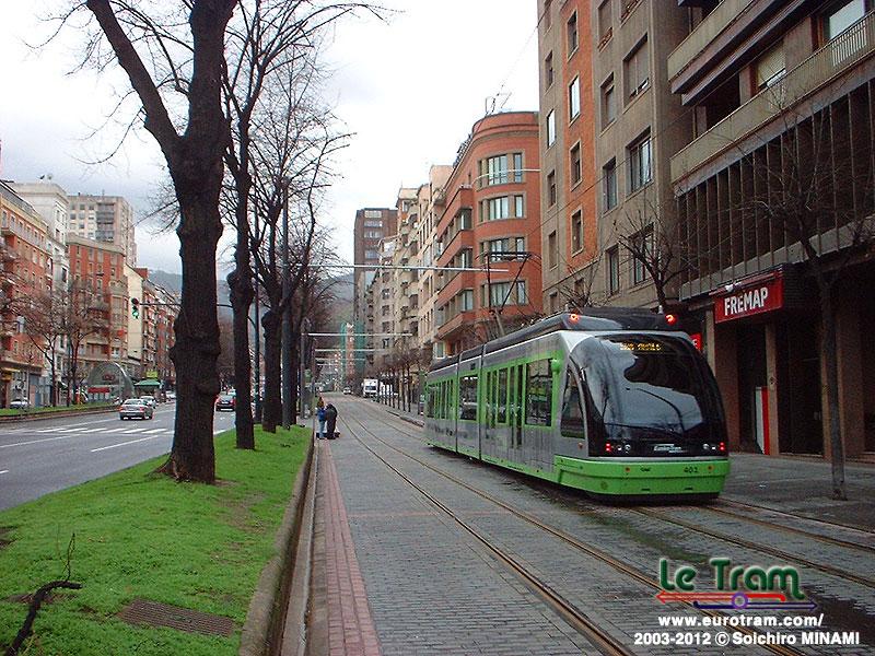 スペインのトラム・トロリーバス...